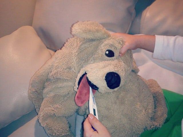 Mein Kind hat Fieber