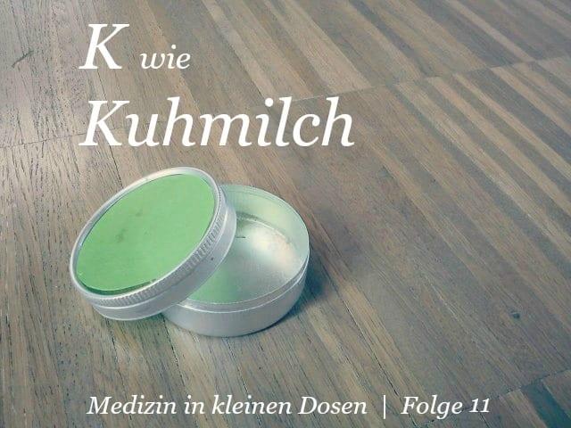 K wie Kuhmilch
